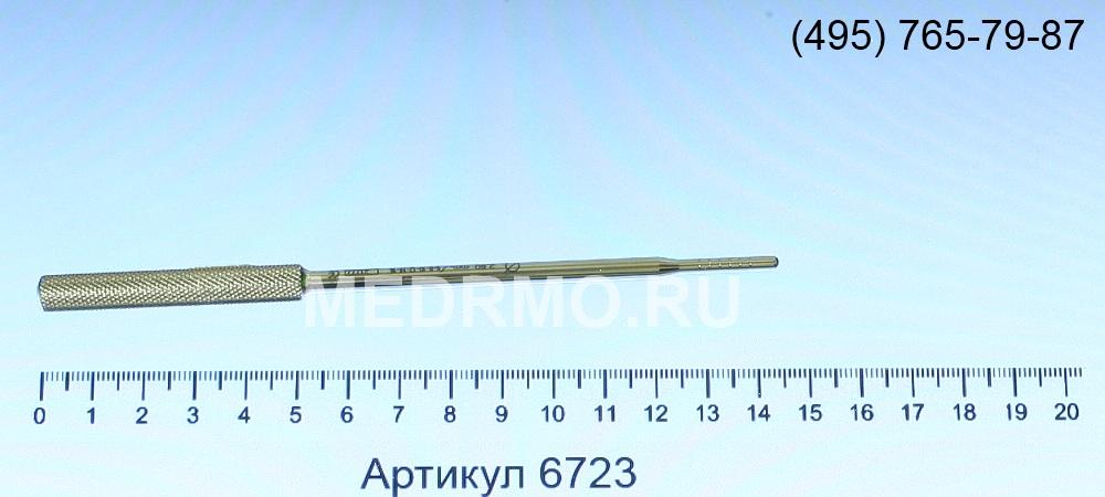 Остеотом, выпуклый, диаметр 2,8мм 6723